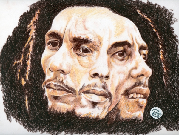 Bob Marley by PhilLP